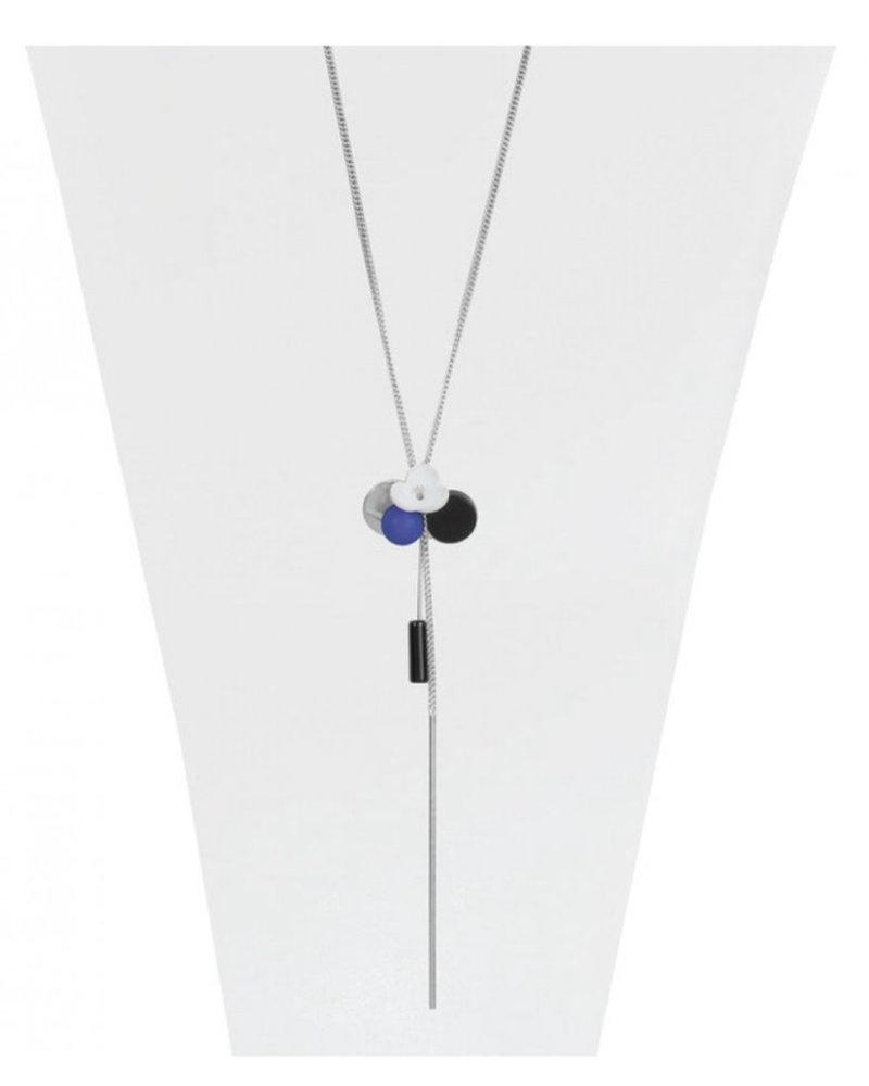 CARACOL CARACOL LONG NECKLACE BLUE