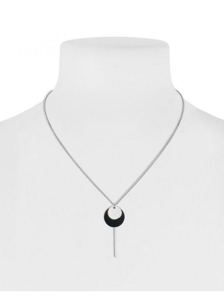 CARACOL CARACOL SHORT NECKLACE SILVER