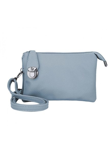 CARACOL CARACOL HAND BAG WITH MANY POCKETS BLUE