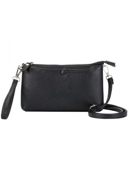 CARACOL CARACOL HAND BAG MULTI FONCTIONS BLACK