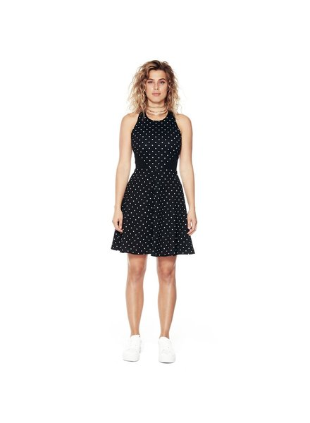 ANNIE 50 ANNIE 50 BLACK DRESS TRIBECA DOTS