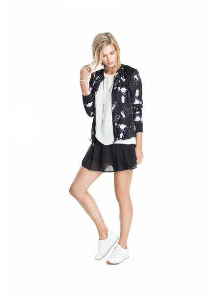 SCHWIING SCHWIING JACKET BOMBER HAILEY RAINFOREST