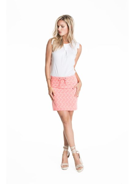 SCHWIING SCHWIING POP SKIRT JANE CORAL