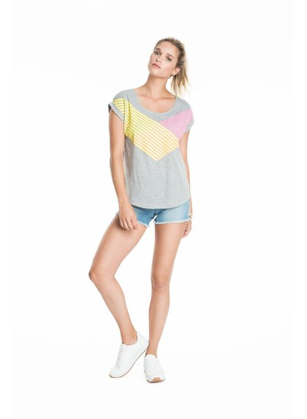 SCHWIING SCHWIING POP T-SHIRT JULIA LANE GREY