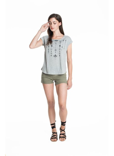 SCHWIING SCHWIING POP T-SHIRT JULIA BOHEM GREY