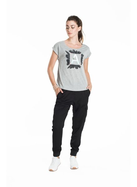SCHWIING SCHWIING POP T-SHIRT JULIA BEACH GREY