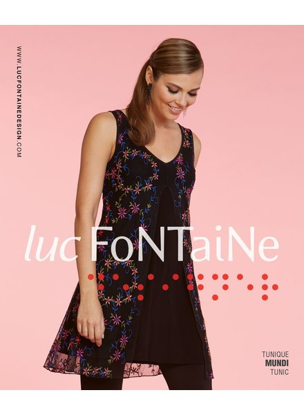 LUC FONTAINE LUC FONTAINE TUNIC MUNDI BLACK