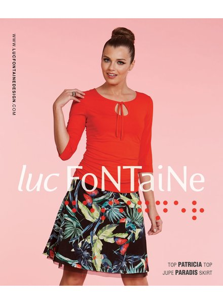 LUC FONTAINE LUC FONTAINE SKIRT PARADISE