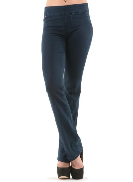 BECXY B. BECXY B. JEANS RILEY PULL ON STRAIGHT BLUE
