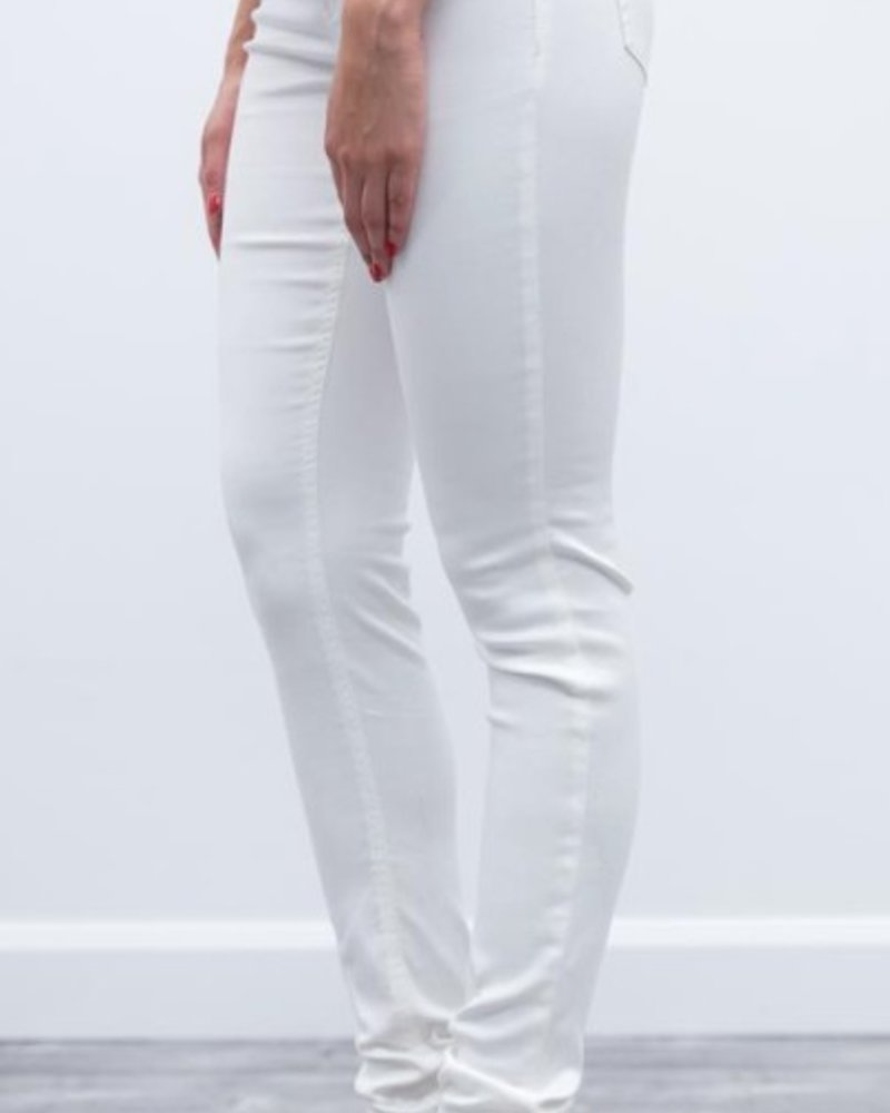 BECXY B. BECXY B. RILEY PULL ON SUPER SKINNY WHITE