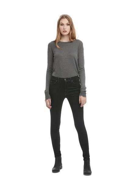 YOGA JEANS YOGA JEANS HIGH RISE SKINNY DESIRADE/CHARCOAL