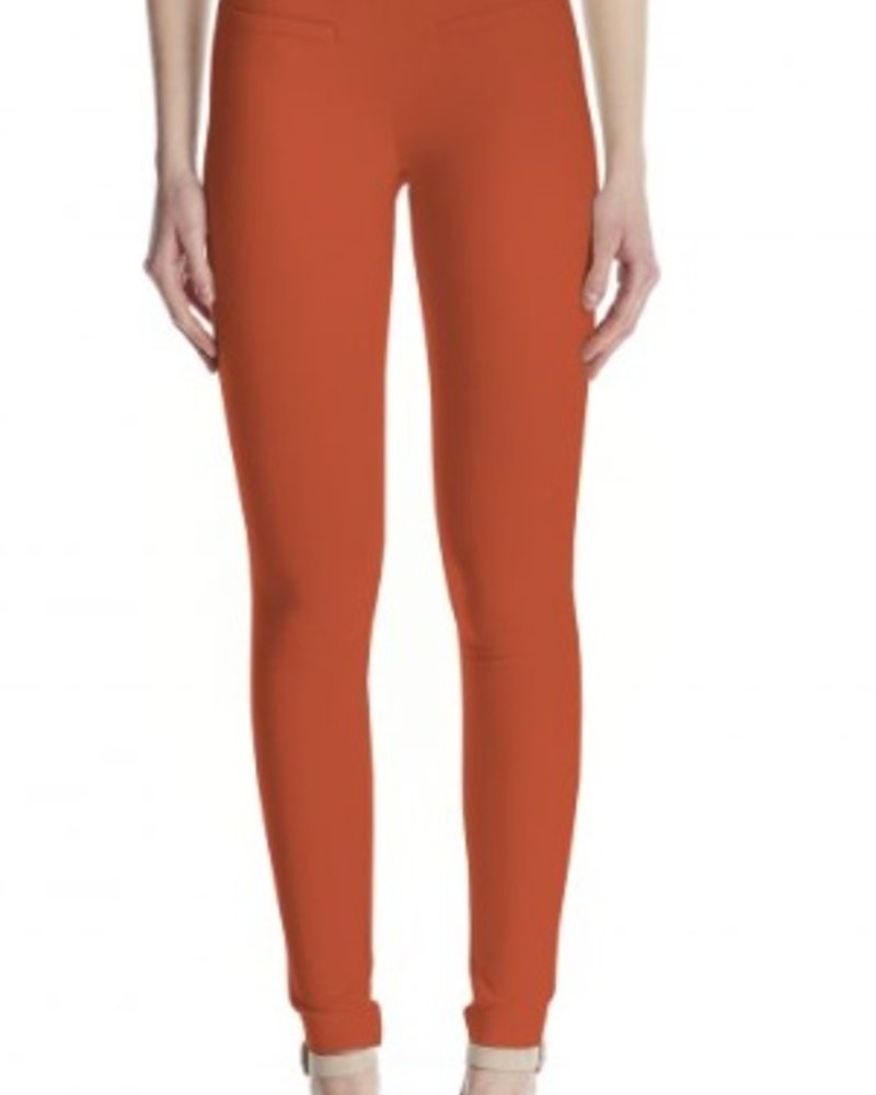 I LOVE TYLER MADISON TYLER MADISON PANTALON BASIC 30IN CAVALLI TWILL ORANGE BRUL…