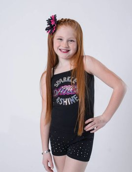OSFA TANK TOP SPARKLE DANCE SHINE YOUTH