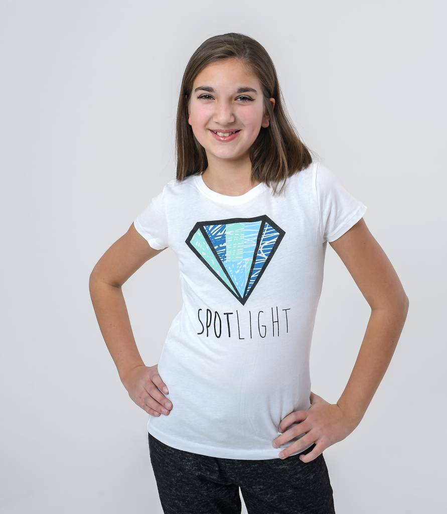 TSHIRTS CRAYON DIAMOND YOUTH