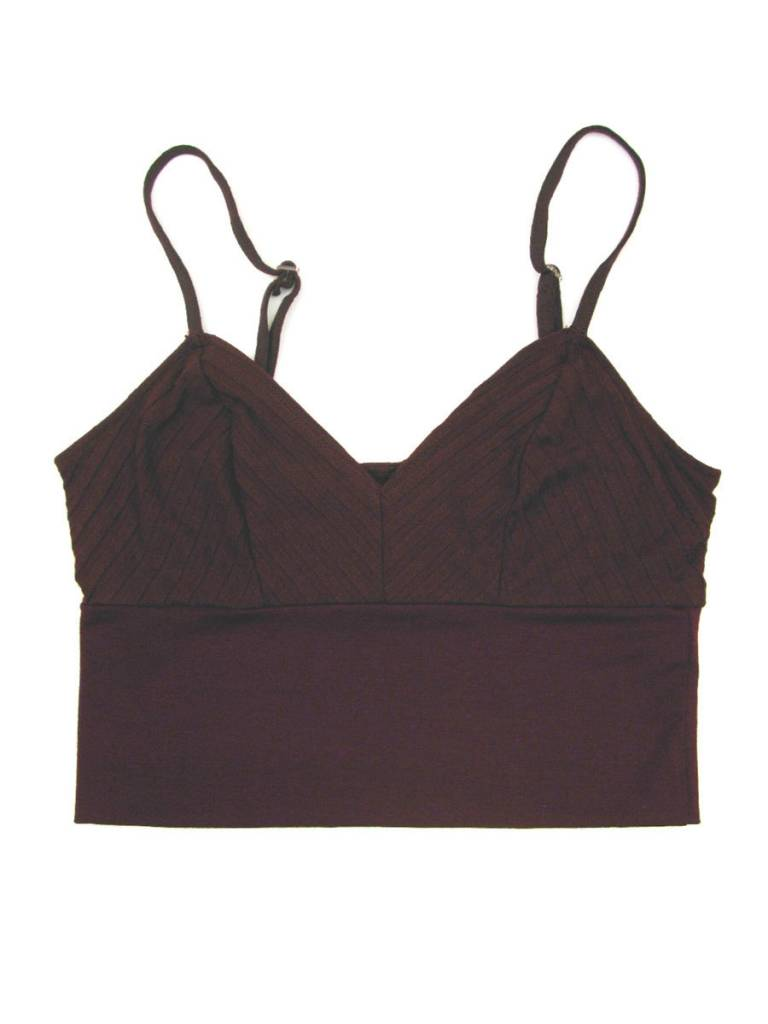Only Hearts Wide Rib Crop Cami