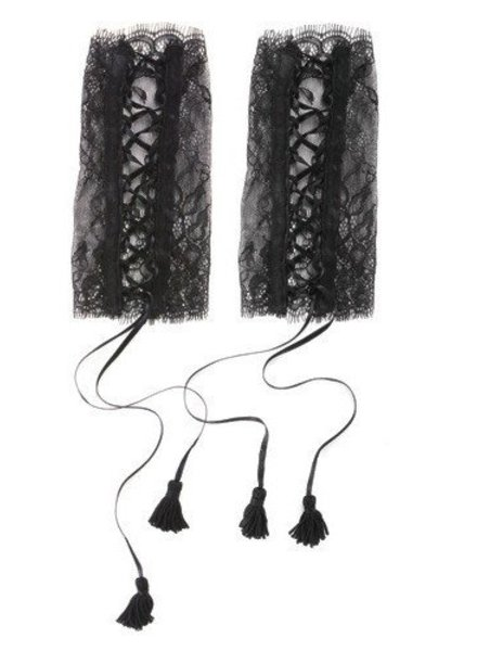 Maison Close Villa Satine Lace Cuffs