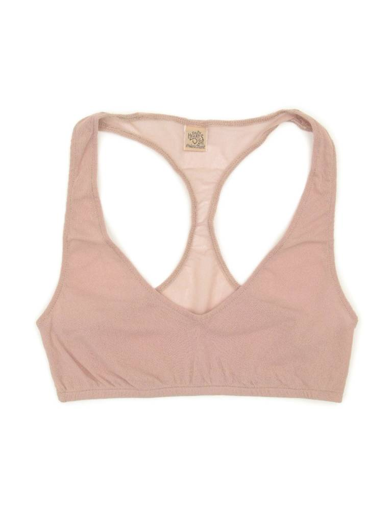 Only Hearts Tulle Racerback Bralette