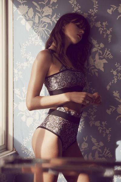 Skivvies by For Love and Lemons Loucette High Waist Panty