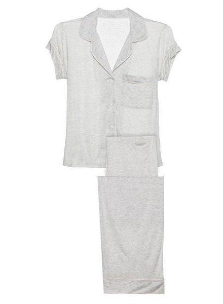 Eberjey Gisele Short Sleeve/Pant PJ Set