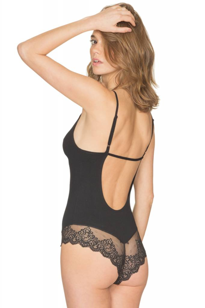 Only Hearts So Fine w/ Lace Low Back Bodysuit