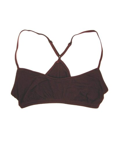 Only Hearts Organic Cotton Racerback Bralette