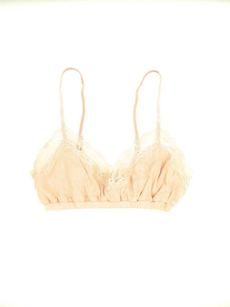 Only Hearts Organic Cotton Bralette