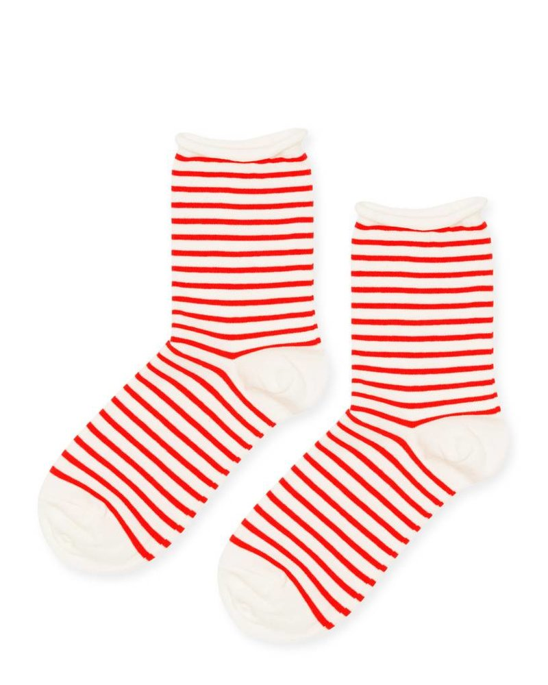 Hansel from Basel Nautical Stripe Crew Socks