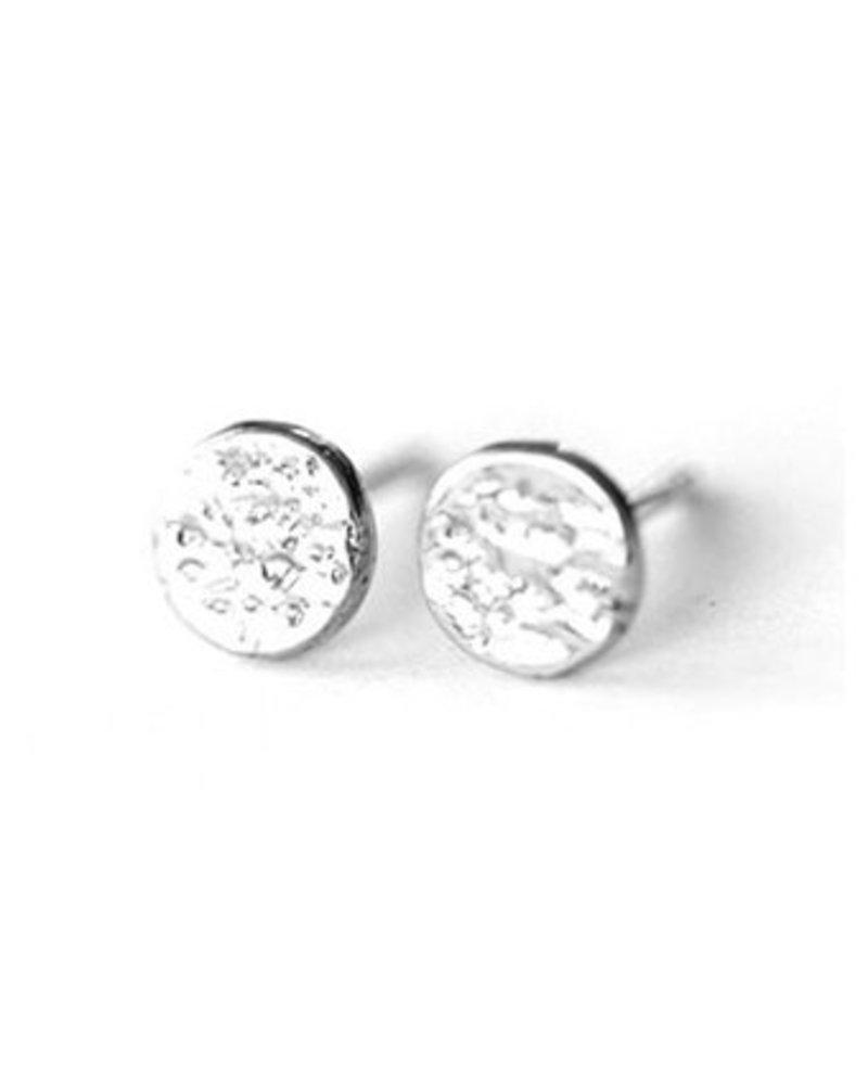 Upper Metal Class Silver Eclipse Earrings