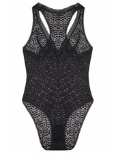 Else Pebble Deep V Racerback Bodysuit