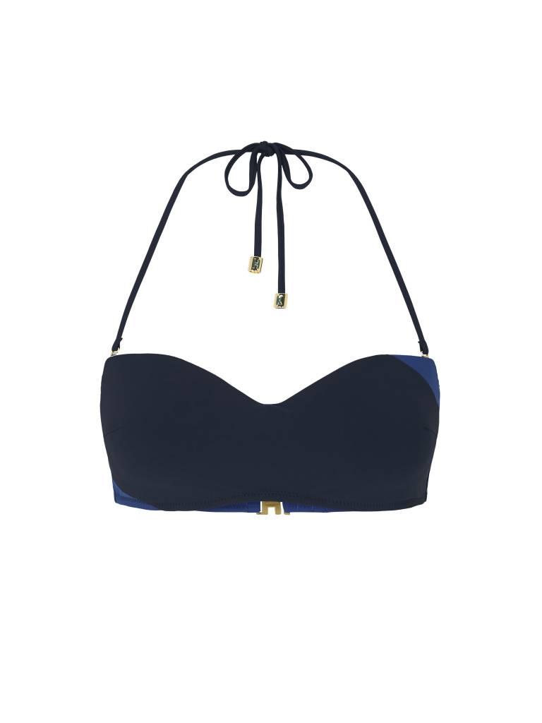 Heidi Klum Intimates Savannah Sunset Underwire Bandeau Bikini Top