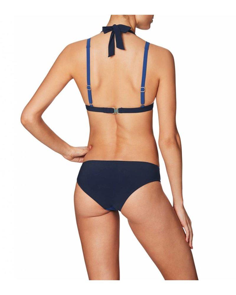 Heidi Klum Intimates Savannah Sunset Halter Bikini Top