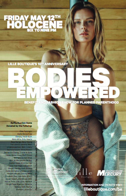 Bodies Empowered Planned Parenthood Benefit