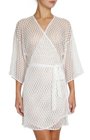 Eberjey Love Always Lace Robe