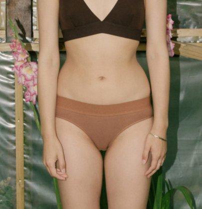 Base Range Organic Cotton Elastic Bell Pants