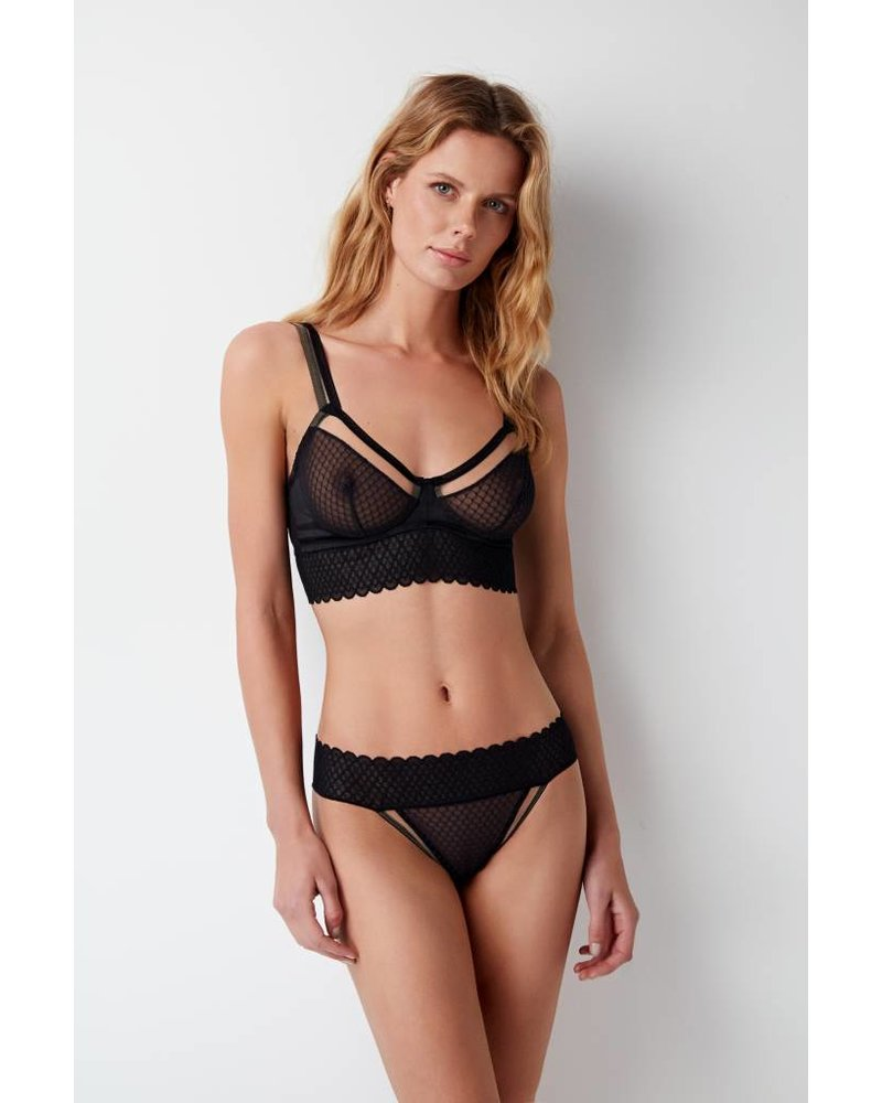 Else Lattice U/W Balcony Bra