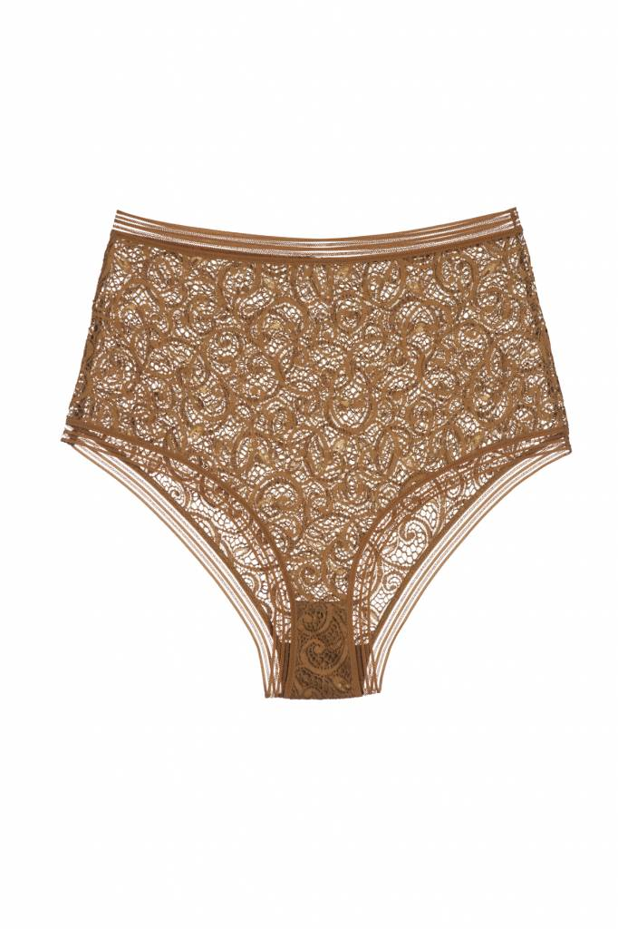 Else Paisley High Waist Brief