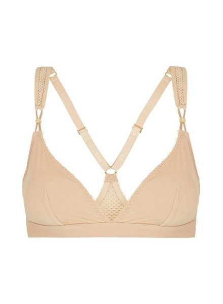Stella McCartney Stella Soft Mesh Racerback Triangle Bra