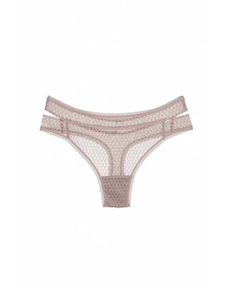 Else Pointelle Cut Out Thong