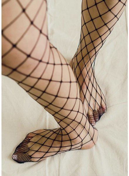 The Great Eros Calzetto Classic Fishnet Stockings