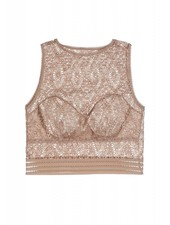 Else Baroque Cropped Tank U/W Bra Top