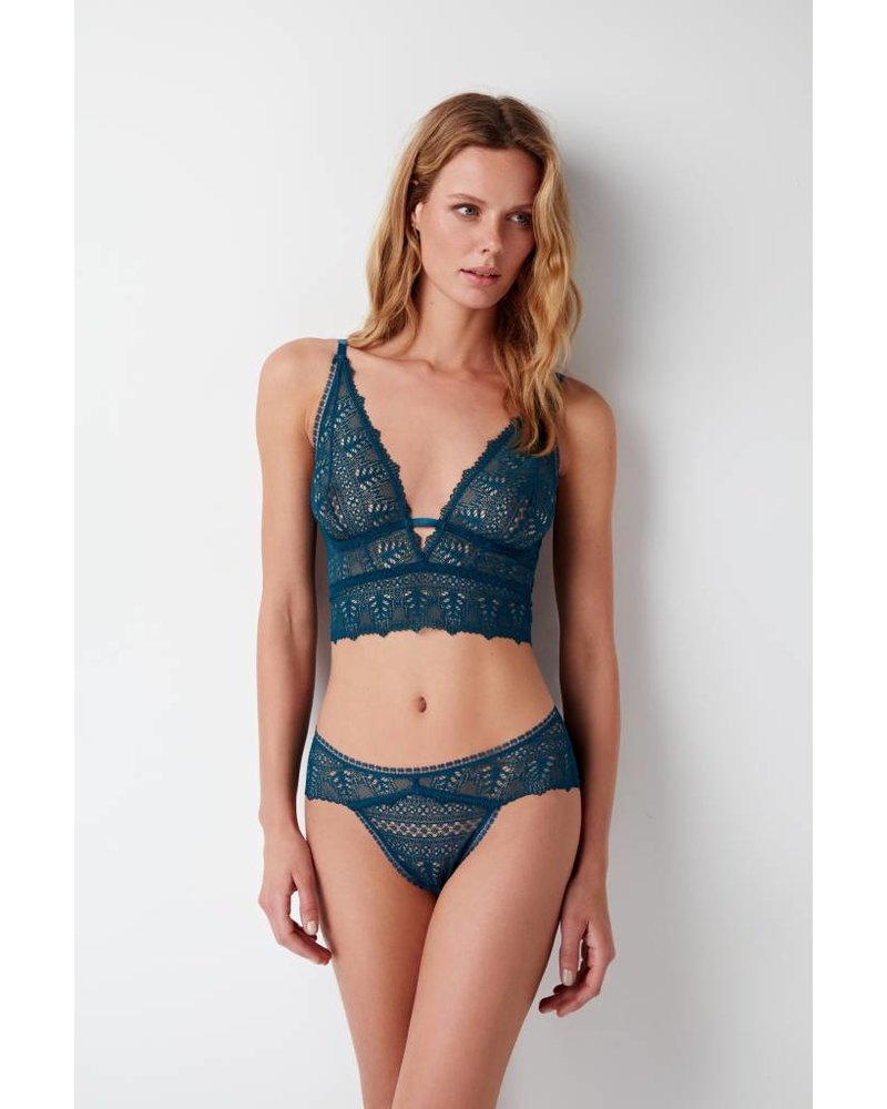 Else Ivy Deep Decollette  Soft Cup Longline Bra