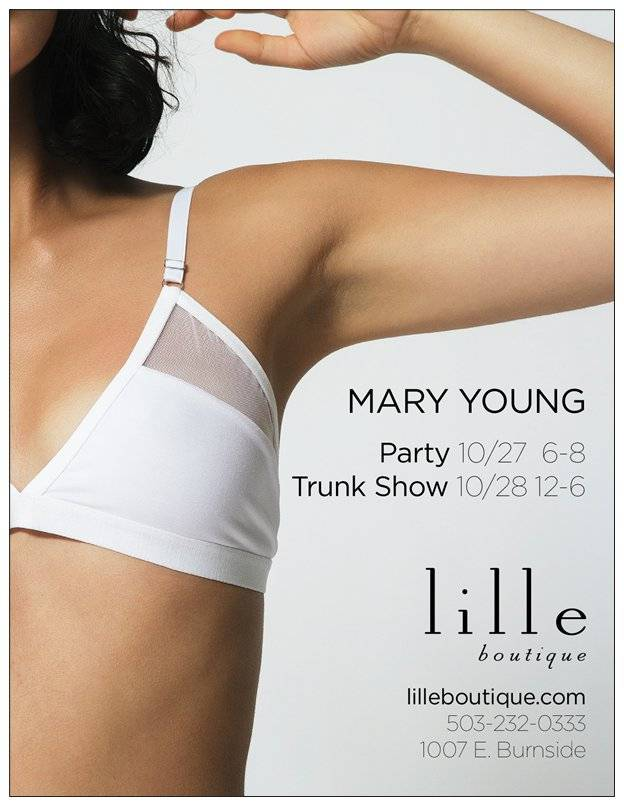 Mary Young Event Reminder