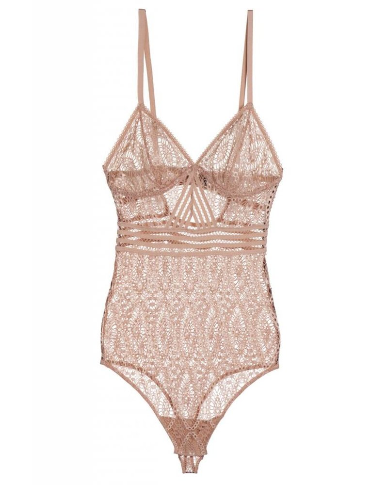 Else Baroque Triangle Cup Cut Out Bodysuit
