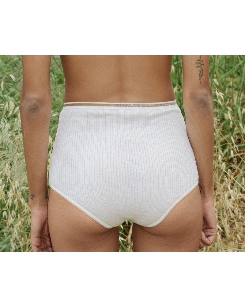 Base Range Mercerized Cotton Highwaist Bell Pants