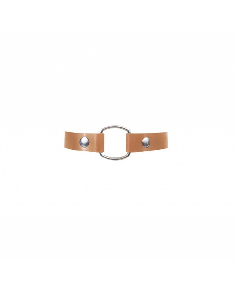 NDA Leather No. 11 Simple Choker