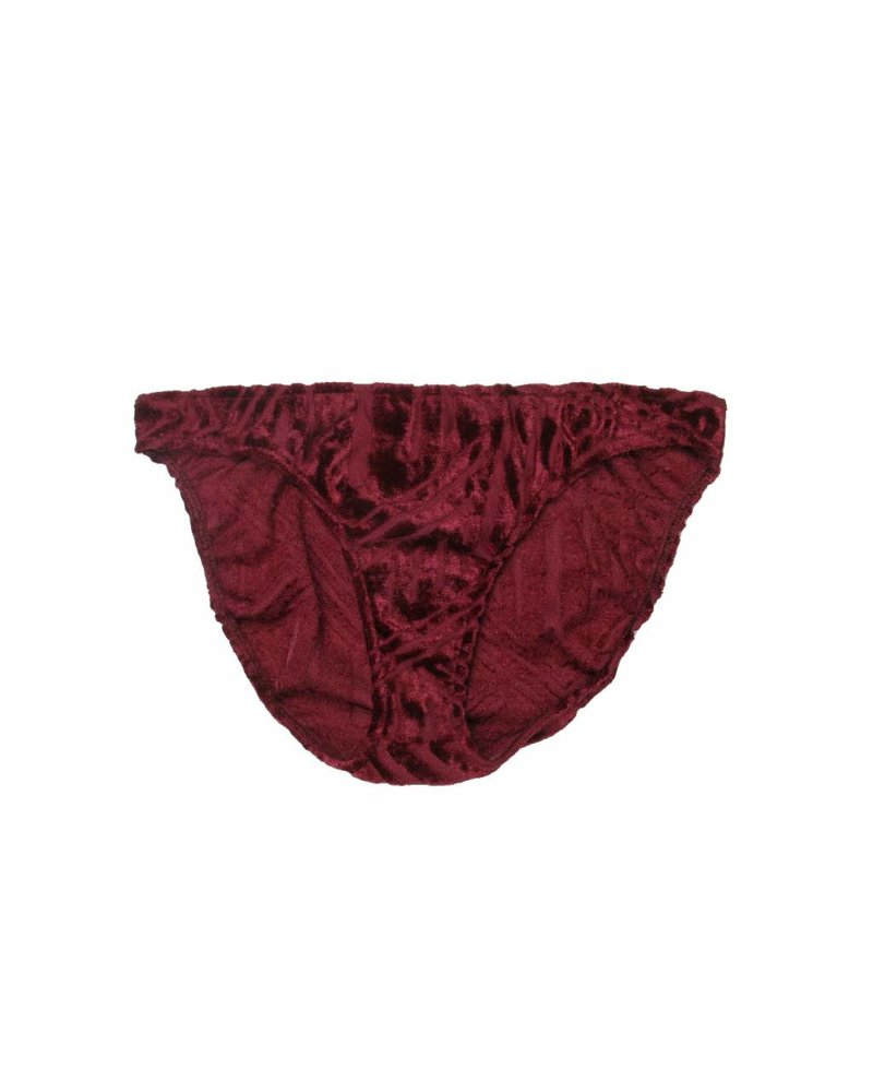 Only Hearts Cut Velour Bikini