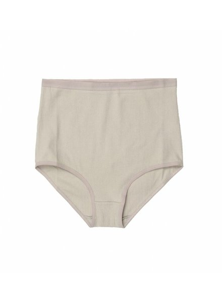Base Range Cotton Rib Highwaist Bell Pants
