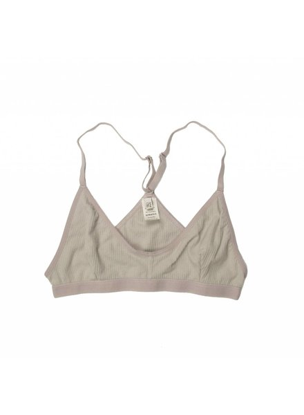 Base Range Cotton Rib X Bra