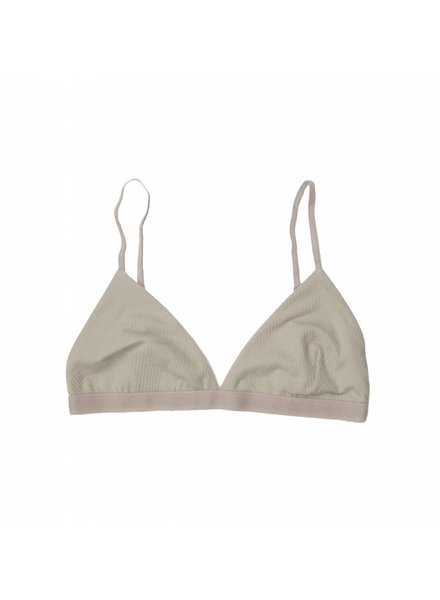 Base Range Cotton Rib Mississippi Bra
