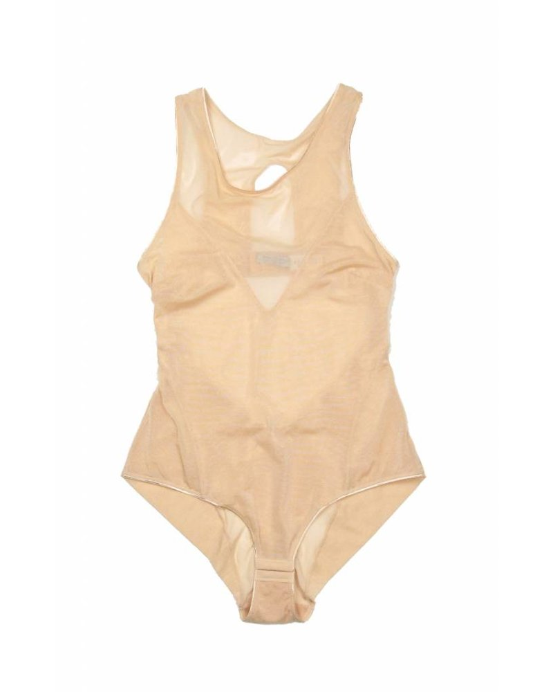 Samantha Chang Jet Set Racerback Bodysuit